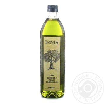 Масло оливковое IONIA помас рафинированное 1л - купить, цены на Novus - фото 1