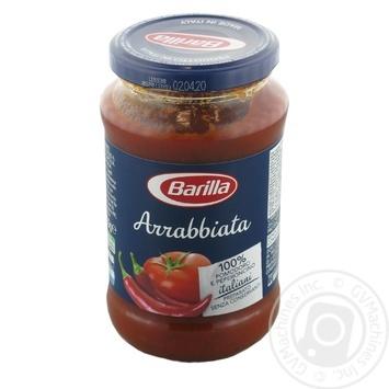 Соус Барілла Аррабіата 400г - купити, ціни на МегаМаркет - фото 1