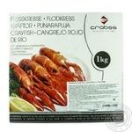 Лангустіни заморожені з кропом CRABSS 28/35 1кг - купить, цены на Novus - фото 1