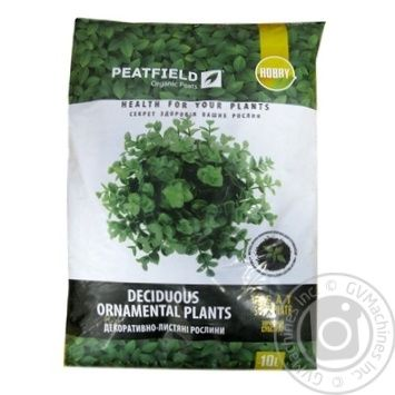 Peatfield Substrate Peat For Ornamental Deciduous 10L - buy, prices for Tavria V - image 1
