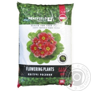 Peatfield Substrate Peat For Flowering Plants 10L - buy, prices for Tavria V - image 1