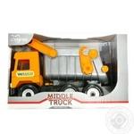 Іграшка Tigres Middle Truck самоскид