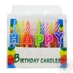 Свічки для торту Heppi 13шт Koopman - купити, ціни на Novus - фото 1