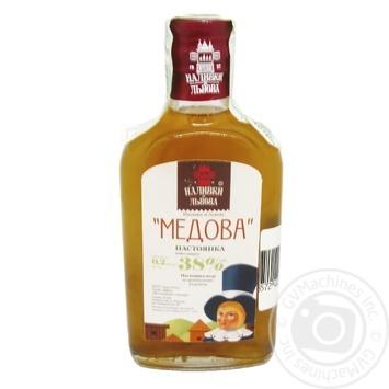 Nalyvky zi Lvova Honey tincture 38% 0,2l - buy, prices for Novus - image 2