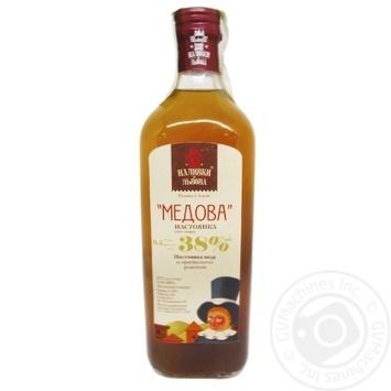 Nalyvky zi Lvova Honey tincture 38% 0,5l - buy, prices for Novus - image 2