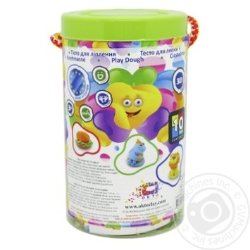 Набір тіста для ліплення в тубусі ОКТО 6 кольорів - купить, цены на Novus - фото 2