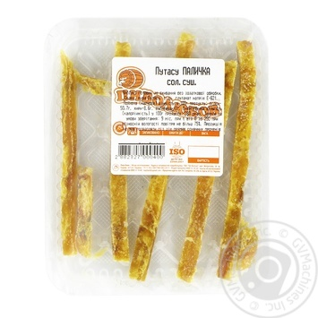 Dried Salted Blue Whiting Sticks - buy, prices for Novus - image 1