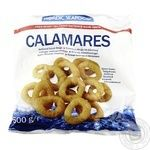 Nordic Seafood frozen in breading sqid rings 500g