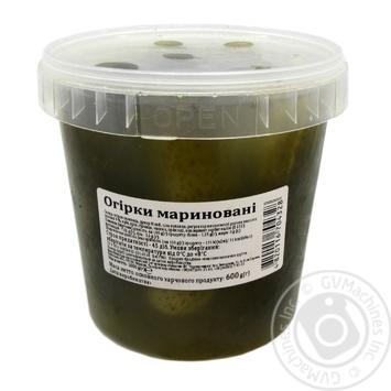 Огірки мариновані 1000г - купить, цены на Novus - фото 1