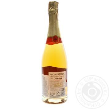 Вино игристое Marques de Monistrol Cava Brut Rose розовое 11,5% 0,75л - купить, цены на Novus - фото 2