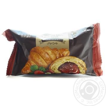 Круасан LaCrema з начинкою зі смаком полуниці 65г