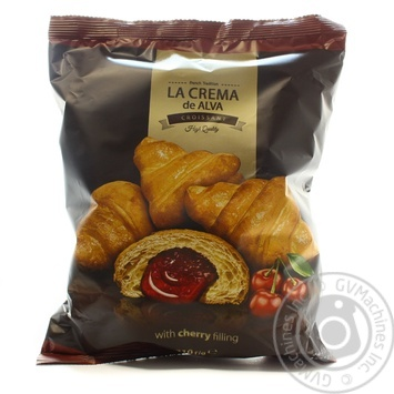 Croissant with cherry taste with filling 210g