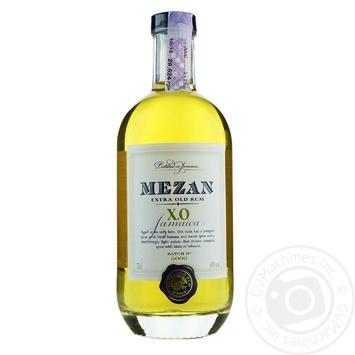 Ром Mezan Jamaican X.O. 40% 0.7л - купить, цены на Novus - фото 1