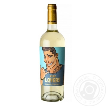 Wine Lovers El Cachas Blanco Semidulce White Semi-Sweet Wine 11% 0,75l - buy, prices for Novus - image 1