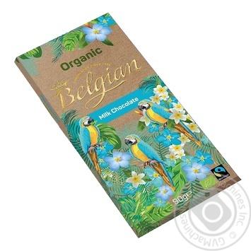 Шоколад Belgian Organic молочный 90г - купить, цены на Таврия В - фото 2
