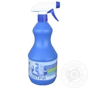Засіб для чистки кахелю та сантехніки Сана Сантри універсал з пульверізатором 900г - купить, цены на Novus - фото 1