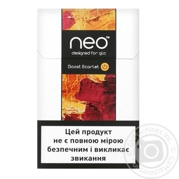 Стик Neostiks Boost Scarlet - купить, цены на Фуршет - фото 2