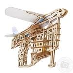 3D-пазл механический Ugears Пускатель самолетов
