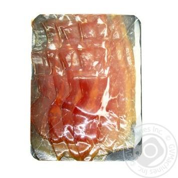 Хамон Курадо Carchelejo без кістки сиров'ялений нарізаний в/г - купити, ціни на Novus - фото 1