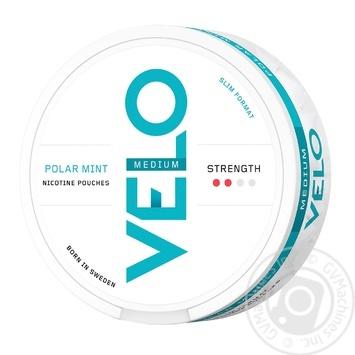 Никотиновые подушечки Velo Polar Mint Medium