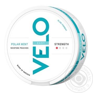 Никотиносодержащие порции Velo Polar Mint Easy