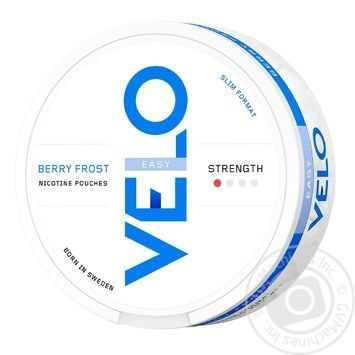 Никотиновые подушечки Velo Berry Frost Easy