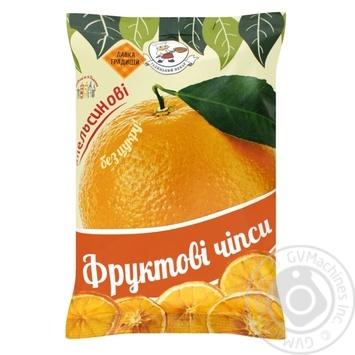 Чіпси фруктові апельсинові Галицький Пекар 40г