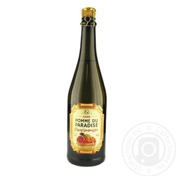 Pomme du Paradise Grapefruit white semi-sweet cider 6% 0,75l - buy, prices for Novus - image 1