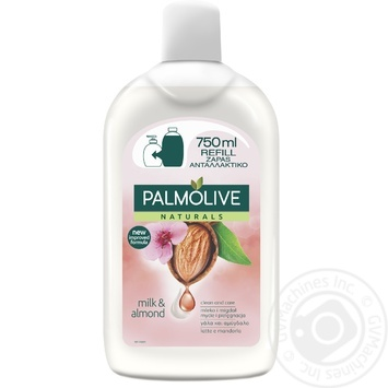 Palmolive Naturals Liquid soap Sensitive Skin Moisturizing Almonds & Moisturizing Milk 750ml - buy, prices for EKO Market - photo 2