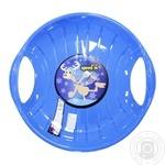 Санки-диск Speed-m синие 60см