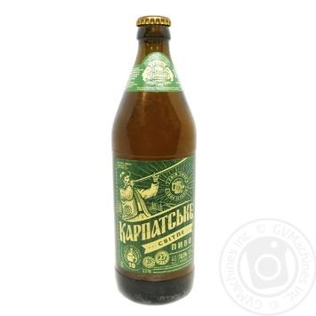 Пиво Калужское Карпатское светлое 3,5% 0,5л