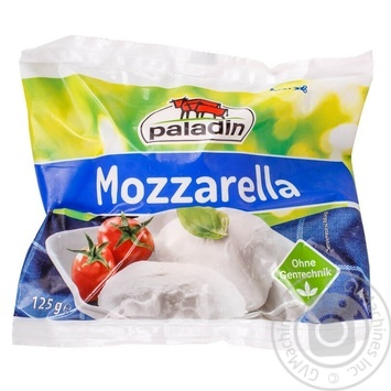 Cheese mozzarella Paladin Private import pickled 45% 125g - buy, prices for Furshet - image 1