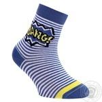 Шкарпетки дитячі Conte-Kids Tip-Top сині розмір 12