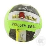 М'яч волейбольний 772-436 (60) Профіт Трейдінг 260-280 грам, 18 панелей, 6 кольорів