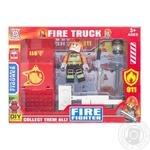 Набір ігровий Space Baby Fire Truck фігурка-конструктор з авто і аксесуарами в асортименті