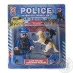 Space Baby Police Figurine-Constructor Toy Set With Dog And Accessories in Assortment