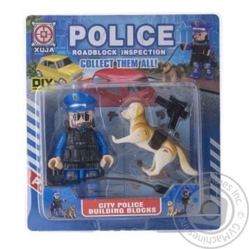 Набор игрушечный Space Baby Police фигурка-конструктор с собакой и аксессуарами в ассортименте
