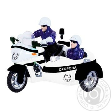 Игрушка автомодель Techno Park мотоцикл 1:32