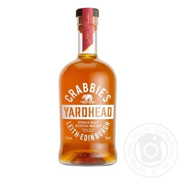 Crabbie's Single Malt whisky 40% 0,7l - buy, prices for CityMarket - photo 1