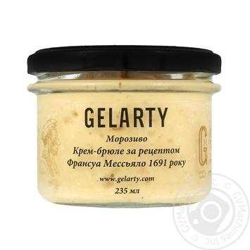 Мороженое Gelarty Крем-брюле по рецепту Франсуа Мессьяло 1691 года 235мл