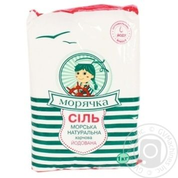 Moriachka Iodinated Salt - buy, prices for Novus - image 1