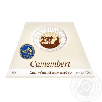 Сыр мягкий Pastourelle Камамбер 50% 90г