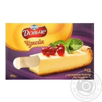 Dolce with cookies and lemon cheesecake 21.5% 150g - buy, prices for MegaMarket - image 1