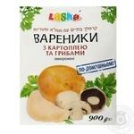 Вареники Laska с картошкой и грибами 900г