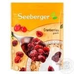 Seeberger dried cranberry 125g - buy, prices for Novus - image 1