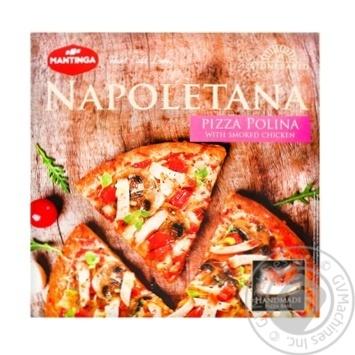 Пицца Mantinga Napoletana Polina c копченой курицей 340г
