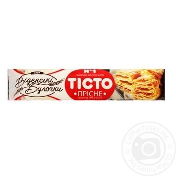 Тесто Венские Булочки пресное слоеное 1000г - купить, цены на Метро - фото 1