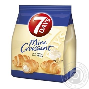 7 Days Mini vanilla croissant 60g - buy, prices for MegaMarket - image 1