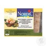 Хлібці хрусткі з олівками та італійскими травами Nordic 100г