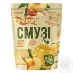 Смузи Рудь Персик-манго-банан замороженное 5х90г